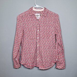 Anthropologie Holding Horses Floral Button Down 2